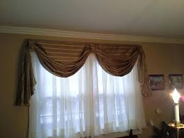 Window Curtain Box Design Swag Curtains For Bedroom