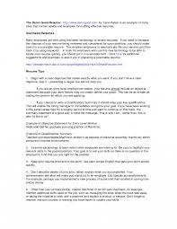 How To Writeifications On Resume Writing Summary Examples Of For