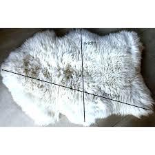 costco sheepskin rug sheep fur rug white and ivory sheepskin rug throw blanket biggest sizes grey