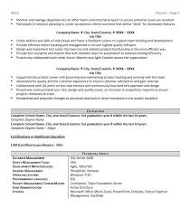 Scrum Resume Example Page 2