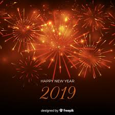 New Year Backgrounds New Year 2019 Background Vector Free Download
