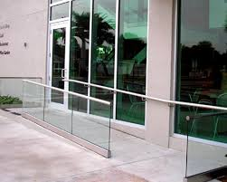 crl blumcraft bgr wet glaze glass railing system with cap rail