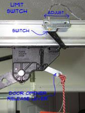 garage door switchAdjusting Garage Door Limit Switches  Garage Doors  Doors