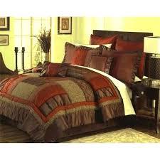 burnt orange king size bedding sets comforter in a bag chocolate