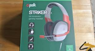 polk audio striker zx xbox one gaming headset review just how polk audio striker zx xbox one gaming headset review