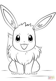 Disegno Di Il Pokemon Eevee Da Colorare Disegni Da Colorare E Con