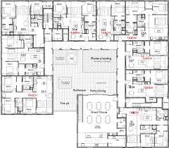 housing floor plans. Units 301- 309, Walkway Gathering Node, Overlook Great House And Patios. Housing Floor Plans F
