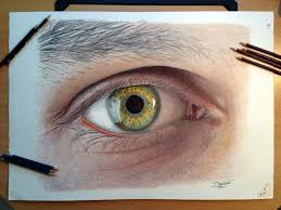Drawingcolor Eye Color Pencil Drawing By Atomiccircus On Deviantart