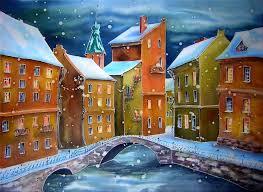 стихъи городской пейзаж Города мира Нарисовать картину в деревенском стиле kak risavat zimniy peizaj пейзаж дипломная работа