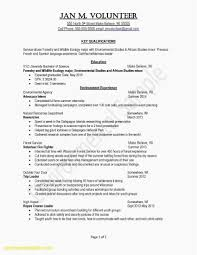 Science Resume Example Best Of Awesome Examples Resumes Ecologist
