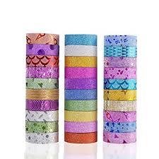 Best Masking Tape For Decorating Amazon 100 Rolls Washi Masking Tape Set Decorative Craft Tape 82