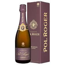 send pol roger brut vine rose 2002 gift