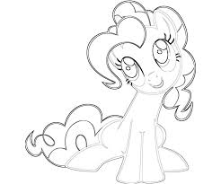Small Picture My Little Pony Pinkie Pie Coloring Pages 3443 595400