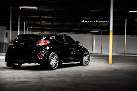 hyundai veloster black rims. 2015 hyundai veloster fitted with 19 inch bd3u0027s in graphite machine face black rims n