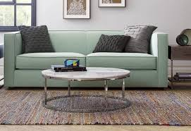 simple furniture round marble top coffee table from cb2 stone coffee