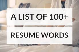 100 Resume Words To Land Your Next Job Productivity Theory