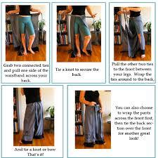 Wrap Pants Pattern Interesting Super Comfortable Wrap Pants Laupre