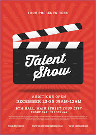 Talent Show Flyer Background Free Printable Talent Show Flyer Template Beautiful Talent Show