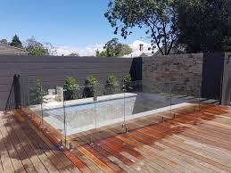 semi frameless glass pool fencing 200 to 275 per metre