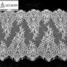 Lace Designs Us 6 77 6 Off 37x300cm Piece Wedding Veil Lace Trim Fashion Lace Designs New Store In Lace From Home Garden On Aliexpress