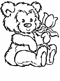 Small Picture Coloring Book Page Of Flower Coloring Pages