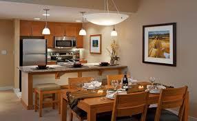 Condo Kitchen Dining Area And Kitchen At Ski Resort Condo Winter Park Ski