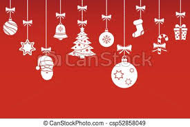 hanging christmas ornaments background. Exellent Christmas Inside Hanging Christmas Ornaments Background M