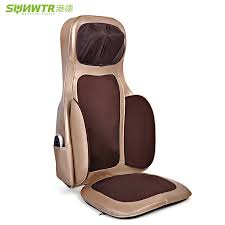 massage pad for chair. online shop sunwtr 4d electric infrared heating shiatsu massage chair sofa health care neck back kneading pad for