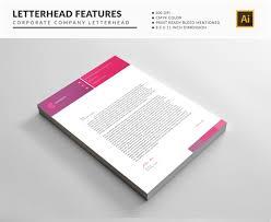 Vector Business Letterhead Template Free