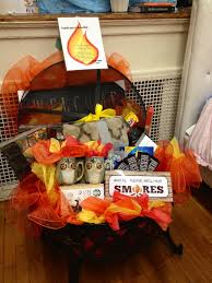 Inspirational Fire Pit Gift Basket Fire Pit Auction Basket Auction ...