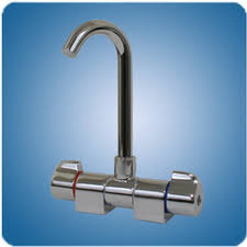 <b>FAUCET</b> FOLDING MIXER HIGH REACH <b>SPOUT CHROME</b>