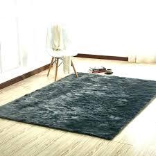 black faux sheepskin rug fur area rugs round throw canada ru