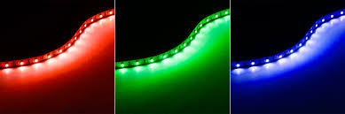high power led flexible light strip nfls x3 copper red green and blue
