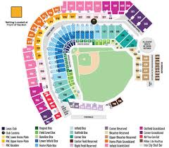 Pittsburgh Pirates Stadium Seating Chart Pnc Park Seating Map Mlb Com