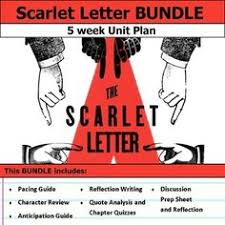 scarlet letter gallery walk writing and image analysis activity  scarlet letter unit bundle
