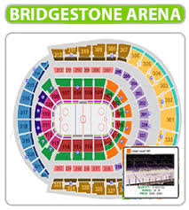 Bridgestone Arena Seating Chart Basketball Extraordinary