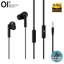 OI J5 Tai nghe điện thoại Nhật Bản Hi-Res cho âm thanh chất lượng cao giảm  tiếng ồn mang đến cảm giác thoải mái khi nghe - INTL