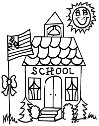 Small Picture School Coloring Pictures