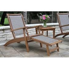 Wood outdoor patio furniture Heavy Duty Garden Quickview Ebay Wood Patio Furniture Youll Love Wayfair