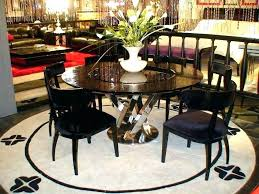 dining table with lazy susan built in round dining table with lazy black high gloss crocodile