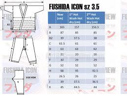 Judo Suit Size Chart Fushida Icon Gi Review 1 Year Later Artofgrappling