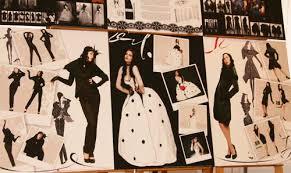 Защита дипломов кафедры Дизайн одежды Уральский архитектурно  Рита Файзрахманова Коллекция женской одежды в готическом и ретро стиле