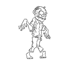 Printable Zombie Coloring Pages For Kids Coloringstar