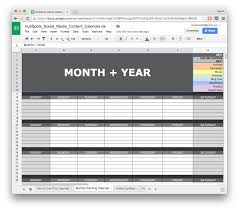 Media Blocking Chart Template 10 Ready To Go Marketing Spreadsheets To Boost Your