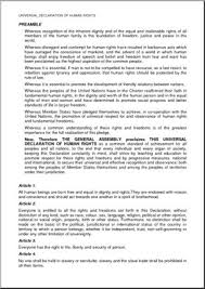 comprehension universal declaration of human rights middle high  comprehension universal declaration of human rights middle high school large image