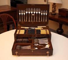 smart deco furniture. A Smart Deco A1 Silver Plated Cutlery Canteen, 6 Settings, Courses, Oak Furniture