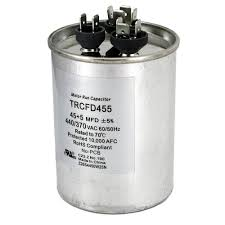 10 370 capacitor wiring diagram trusted wiring diagram \u2022 440 Volt Wiring Wire Size packard 440 volt 45 5 mfd dual rated motor run round capacitor rh homedepot com single phase capacitor motor diagrams single phase capacitor motor wiring