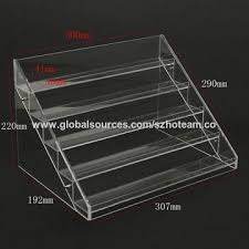 Acrylic Tiered Display Stands China 100 Tier Clear Acrylic Display Stand on Global Sources 12