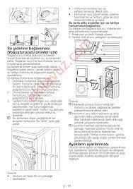 Arçelik 2770 KT Çamaşır Kurutma Makinası - Kullanma Kılavuzu - Sayfa:38 -  ekilavuz.com