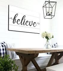 shiplap wall decor ideas believe sign farmhouse